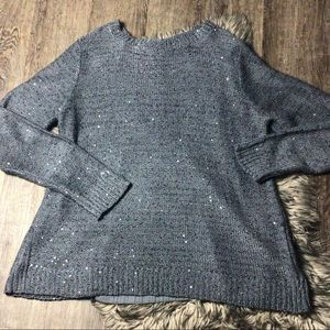 Sparkly sequin sweater size XL